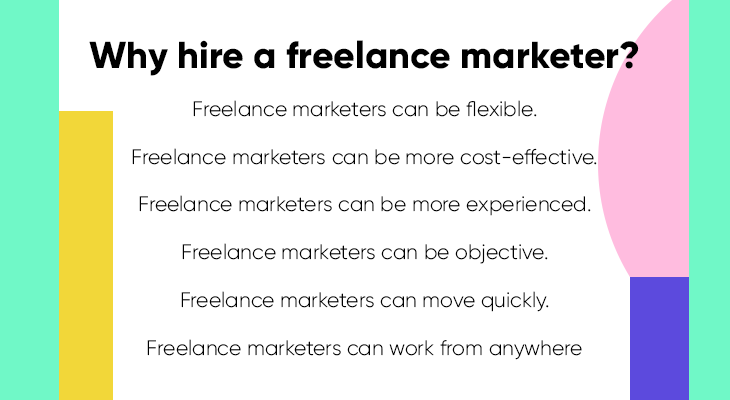 Why hire a freelance marketer