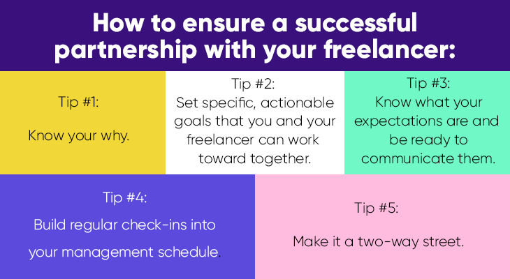 how to work with a freelancer