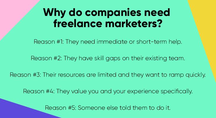 why companies need freelancers